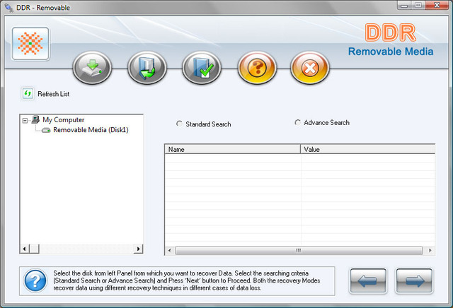 Removable Media Data Recover