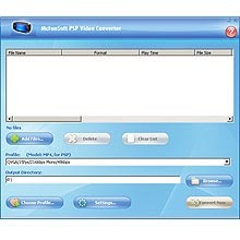 McFunSoft PSP Video Converter