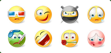 Icons-Land Vista Style Emoticons