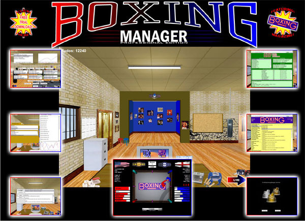 Boxing Manager Professional Edition