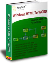Windows HTML To WORD
