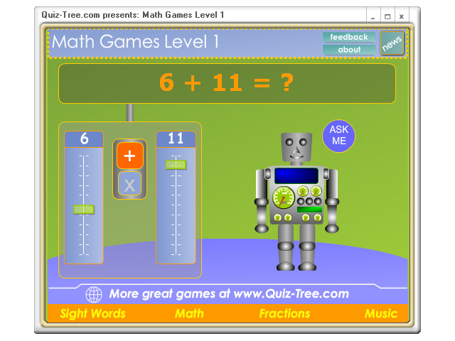 Math Games Level 1