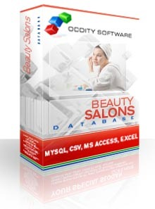 Beauty and Hair Salons Database