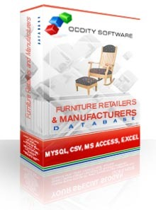 Furniture Retailers and Manufacturers Pro Database