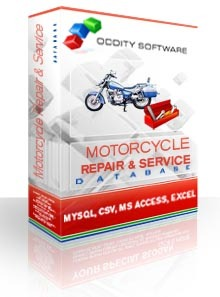 Motorcycle Repair and Service Database