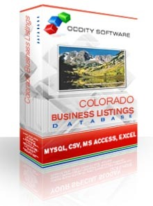 Colorado Business Listings Database