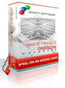 Oregon  White Pages Database