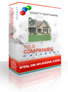Title Services and Companies Database