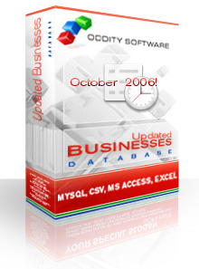 Colorado Updated Businesses Database 10/06