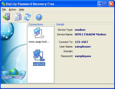 Dial-Up Password Recovery FREE