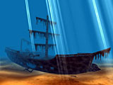 Pirates Ship 3D Screensaver