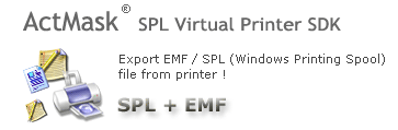 ActMask .SPL (Spool) Virtual Printer SDK