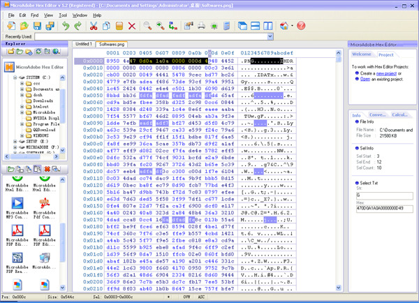 Abdio Hex Editor