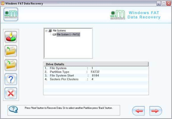 FAT Partition Recovery