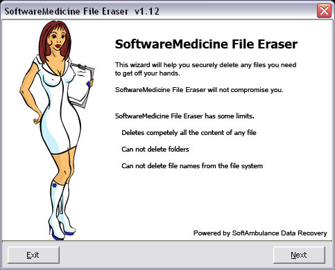 SoftwareMedicine File Eraser