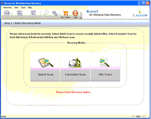 Windows Data Recovery Tool