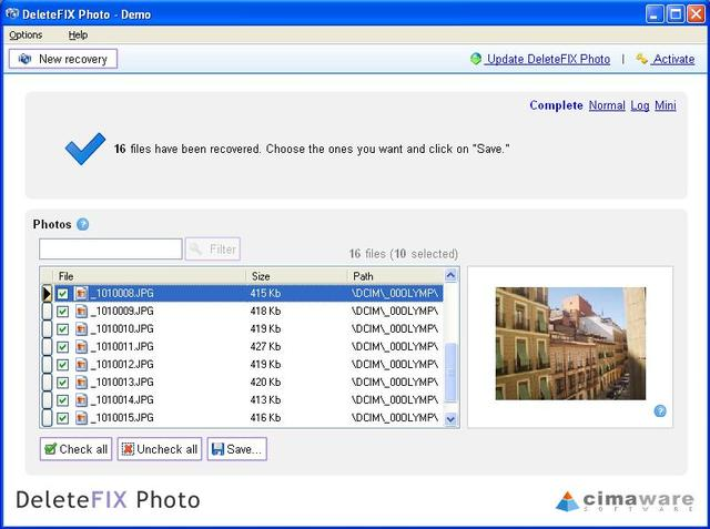 DeleteFIX Photo recovery