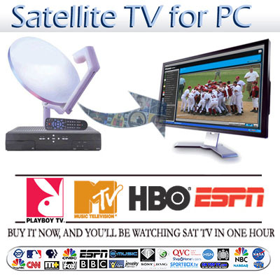 Satellite-TV-PC