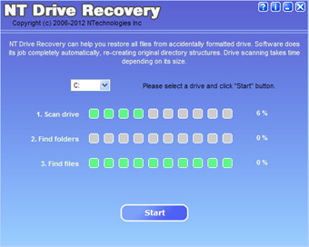 NT Drive Recovery