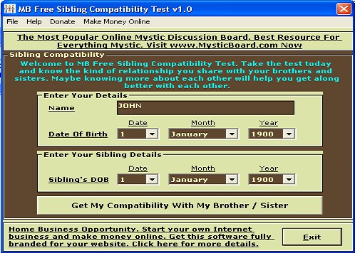 MB Sibling Compatibility Test