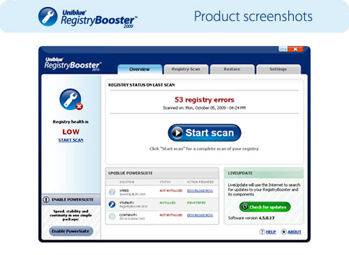 RegistryBooster 2009