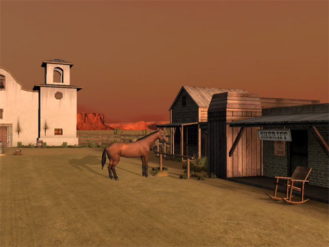 Wild West 3D Screensaver
