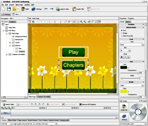 AVS DVD Authoring
