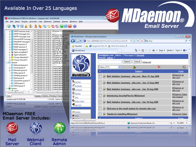 MDaemon FREE Mail Server for Windows
