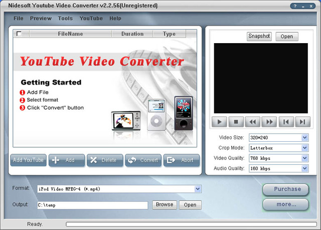 Nidesoft YouTube Video Converter