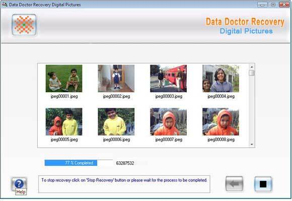 Data Doctor Recovery Digital Pictures