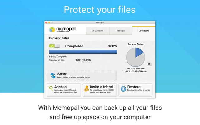 Memopal for Mac users