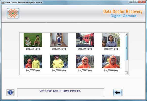 Data Recovery Doctor Digital Camera