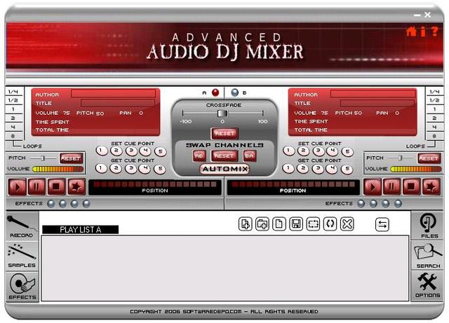 Advanced Audio DJ Mixer