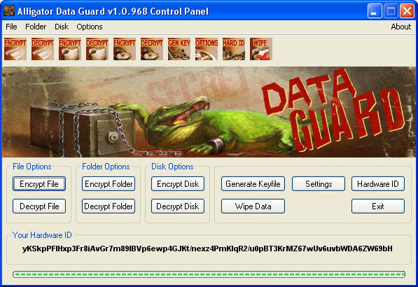 Alligator Data Guard