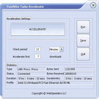 FrostWire Turbo Accelerator