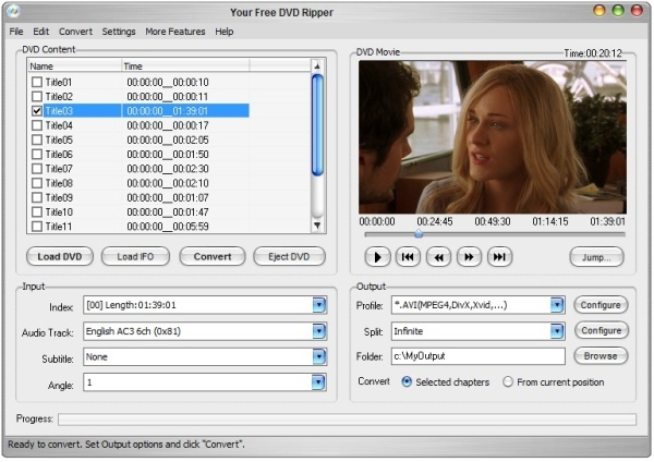 Your Free DVD Ripper