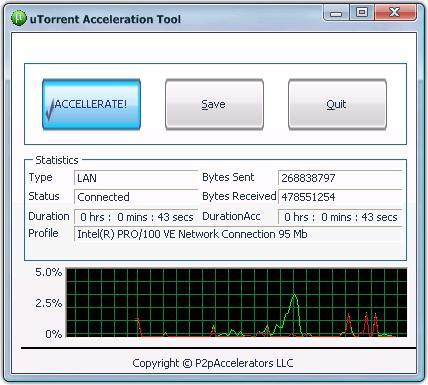 uTorrent Acceleration Tool