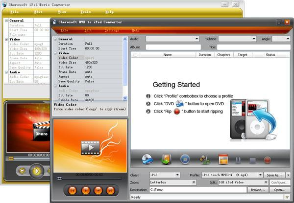3herosoft DVD to iPod Suite