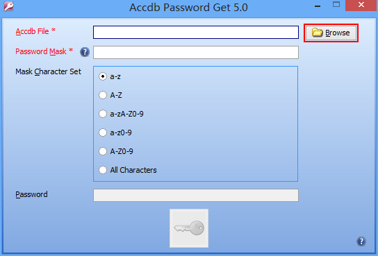 Accdb Password Get