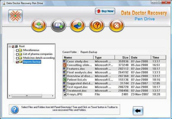 USB Flash Drive File Recovery