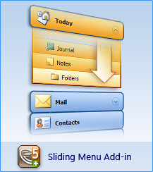 AllWebMenus Sliding Menu Add-in