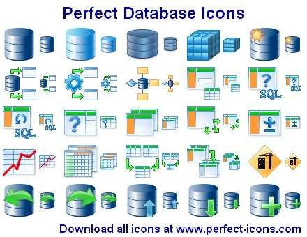 Perfect Database Icons