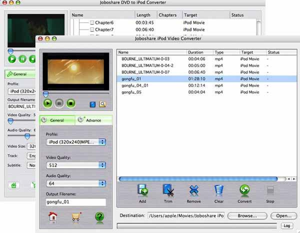 3herosoft DVD to iPod Suite for Mac