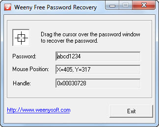 Weeny Free Password Recovery