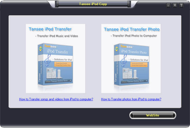 Tansee iPod Copy Suite V5.0