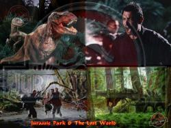 Jurassic Park and The Lost World with Screensaver