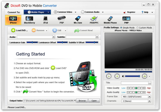 Dicsoft DVD to Mobile Converter