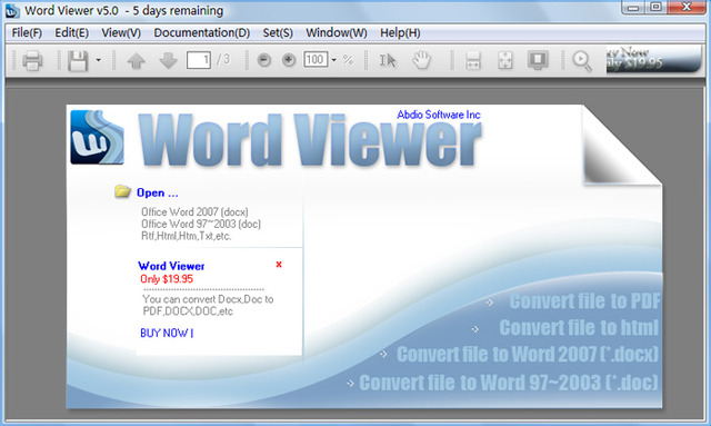 Word Viewer