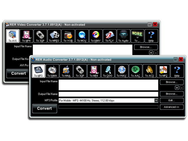 RER Video Audio Converter Pack