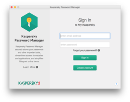 Kaspersky Password Manager for Windows